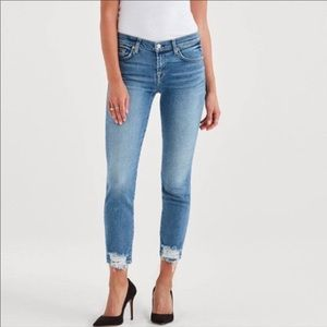 NWT 7 For All Mankind Roxanne Ankle Skinny Blue 23